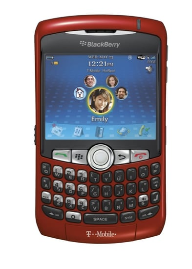 Daily Tech: Introducing the BlackBerry Curve in Sunset