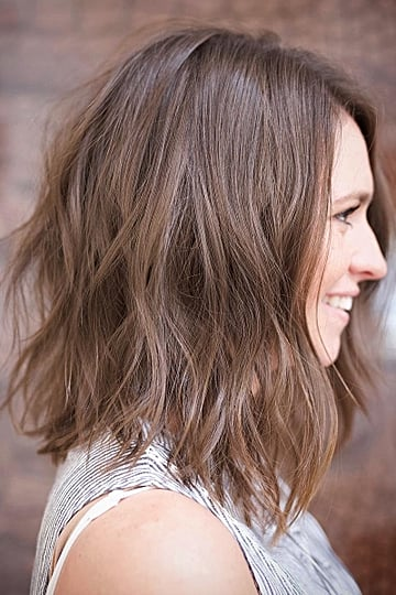 Midlength Wavy Hairstyles