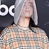 Billie Eilish's Burberry Chain Mask at the AMAs 2019
