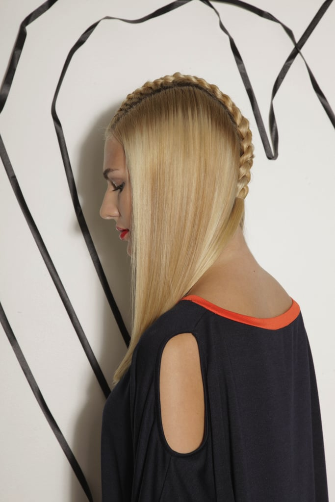 Side View of the Center Braid
