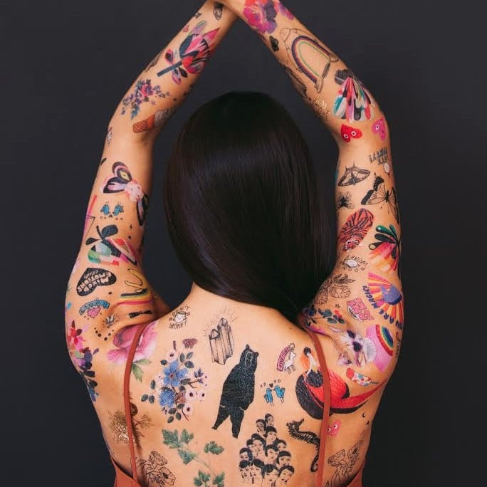 Tattly's Temporary Tattoos Are on Sale, So You Can Get Inked on the Cheap