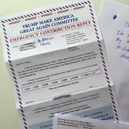 Woman Sends Donald Trump Her Pubic Hairs