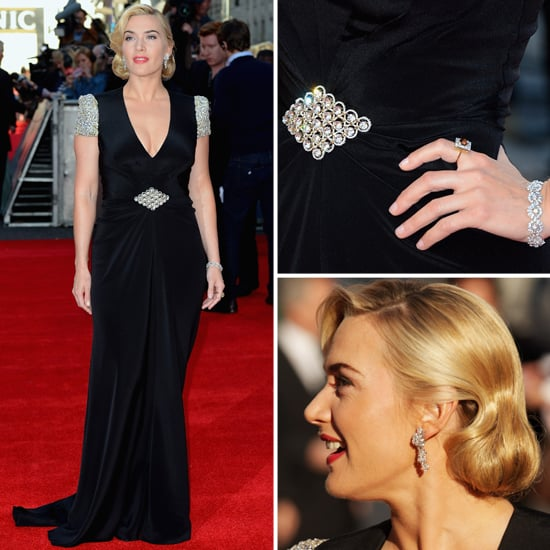See Kate Winslet's Figure-Flattering Jenny Packham Gown from All Angles at the Titanic 3D Premiere!