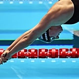Katie Ledecky Swimming the 800m