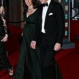 Prince William and Kate Middleton at the BAFTA Awards