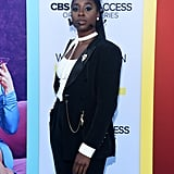 Kirby Howell-Baptiste Suit at the Why Women Kill Premiere