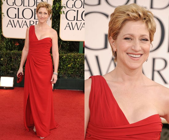 Edie Falco at 2011 Golden Globe Awards