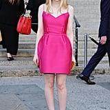 Dakota Fanning attended the Vanity Fair Party at the 2012 Tribeca Film Festival.