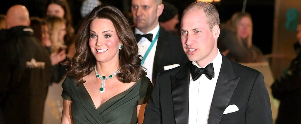Prince William and Kate Middleton Are the Guests of Honor at the BAFTA Awards
