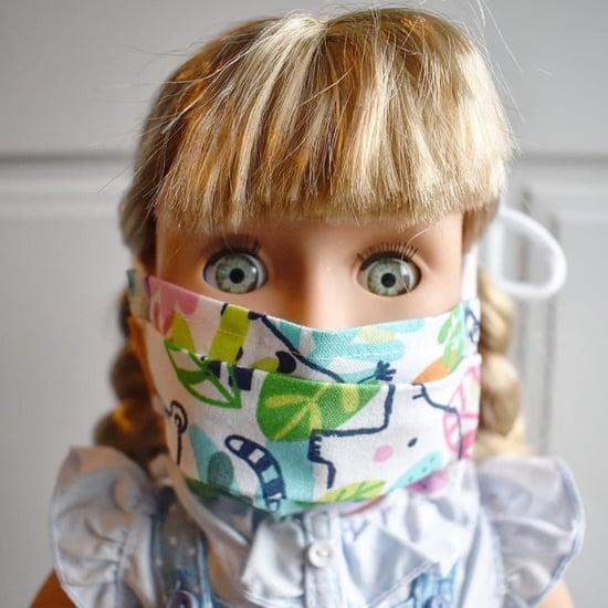 Face Masks For Kids' Dolls on Etsy