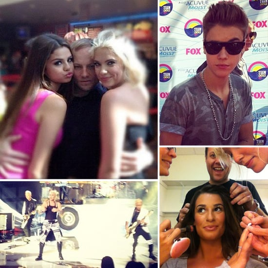 Teen Choice Awards Social Media Pictures