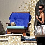 Jessica Alba Heads South of the Border For NYE and Hypes Blue Valentine!