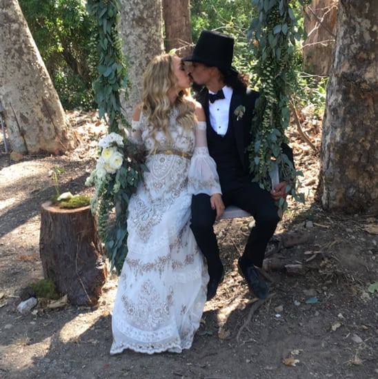 Kimberly Ryan's Wedding Dress