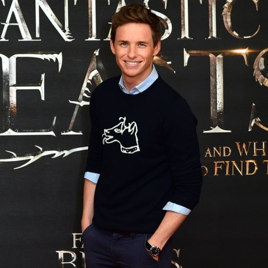 Eddie Redmayne in London For the Fantastic Beasts Event