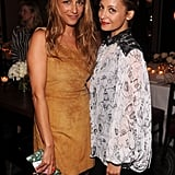 Nicole Richie and Charlotte Ronson were all smiles at NYC's Daniel restaurant.