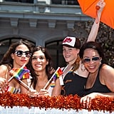 The OITNB cast totally rocked their float at the Pride Parade in 2016.