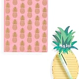 This stationery set is simply great. Pineapple Stationary Set ($8)