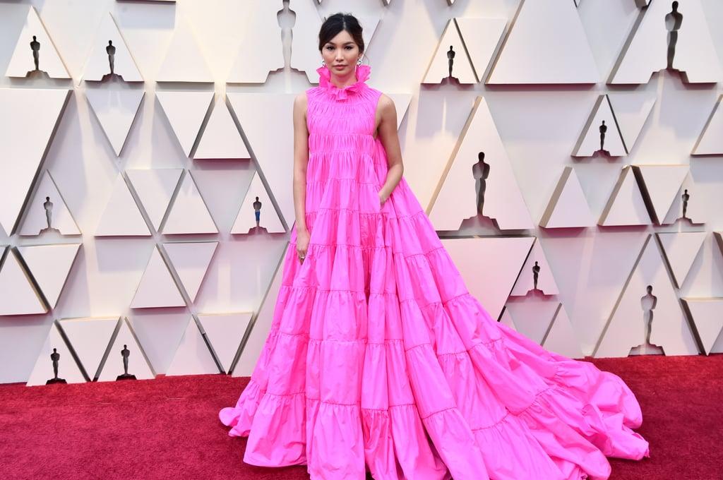 Gemma Chan Hair Oscars 2019