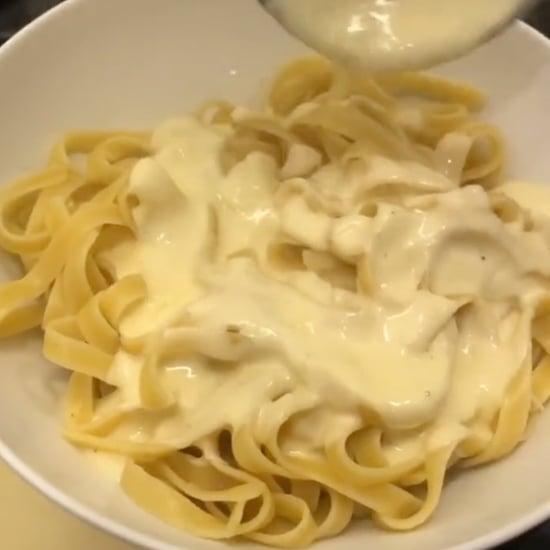 Try This 15-Minute Fettuccine Alfredo Recipe   TikTok Video