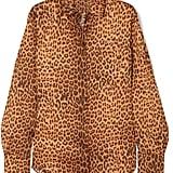 Commission Banker Leopard-Print Satin-Twill Shirt