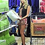 Kristin Cavallari went shopping at HomeGoods in LA on Thursday. Source: Sophie Fritz