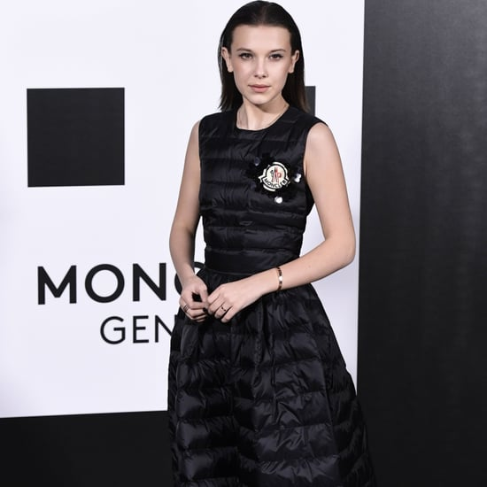 Millie Bobby Brown Moncler Puffer Dress