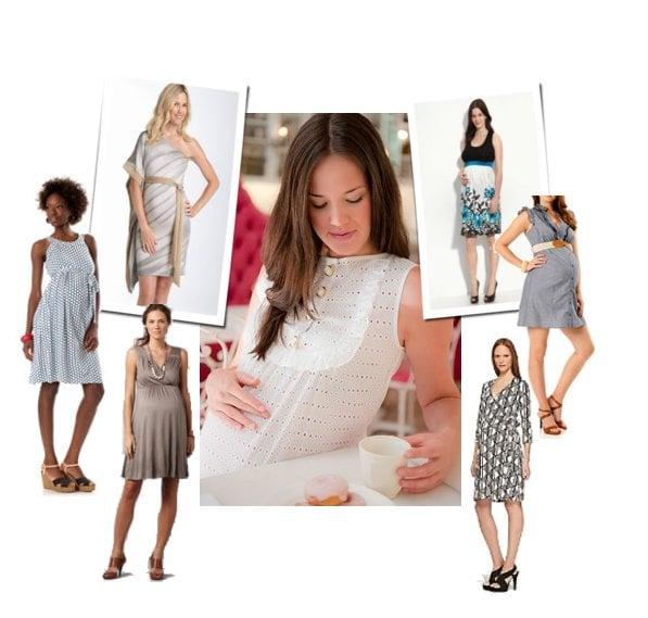 spring maternity dresses  popsugar moms, Baby shower invitation