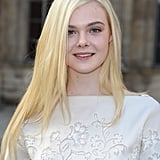 Elle Fanning at Louis Vuitton Spring 2014
