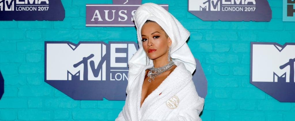 Rita Ora Wore a Bathrobe to the EMAs, Because of Course She Did