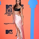 Joan Smalls Wears Brandon Maxwell Look to the 2019 MTV EMAs
