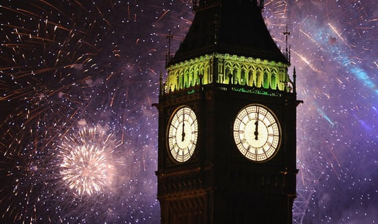 New Year's Eve Celebrations in London,Edinburgh and Sydney