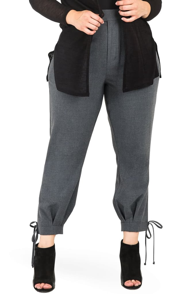 Standards & Practices Robie Suiting Skinny Trousers (Plus Size)