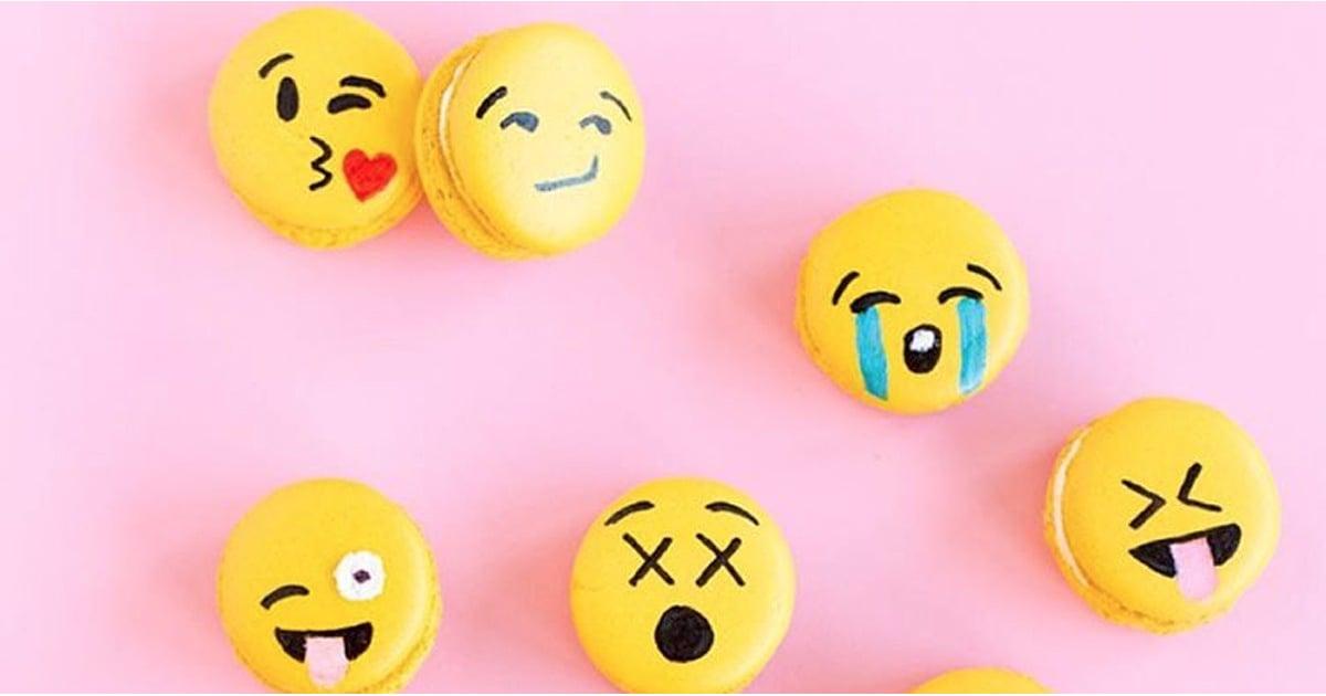 Emoji Macarons | POPSUGAR Food