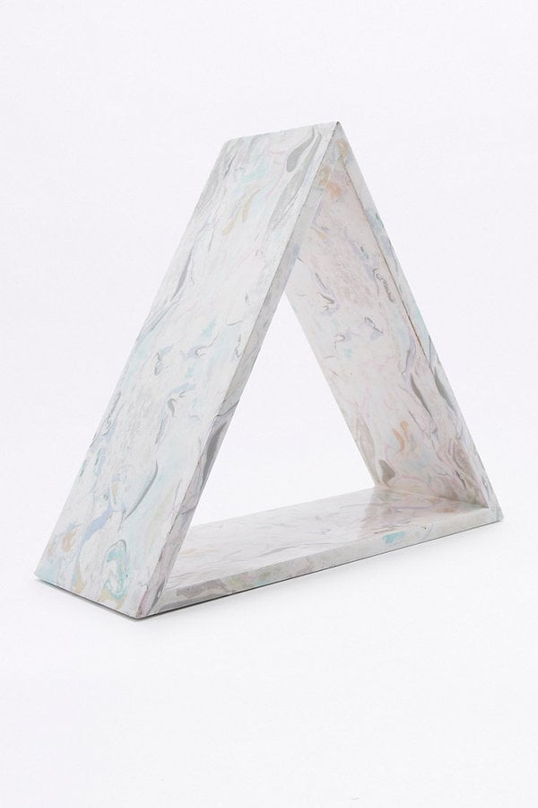 Marbled Triangle Shelf