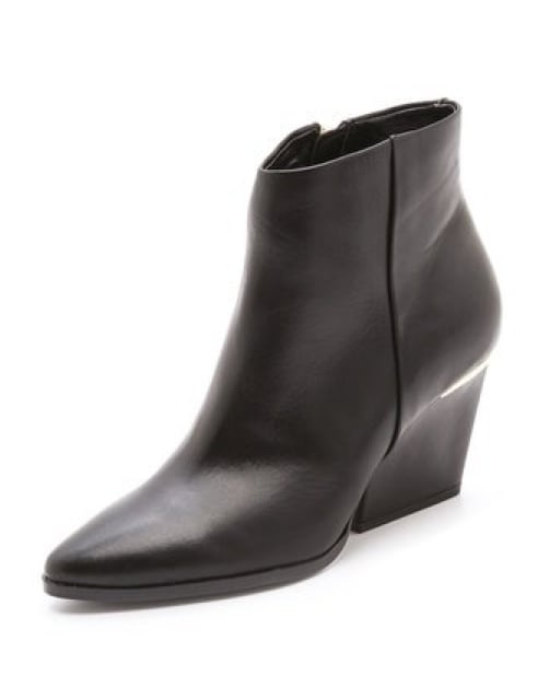 These Boutique 9 Isoke boots ($190) combine a sleek silhouette and a comfortable heel.