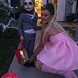 Kourtney Kardashian's Ariana Grande Halloween Costume 2018