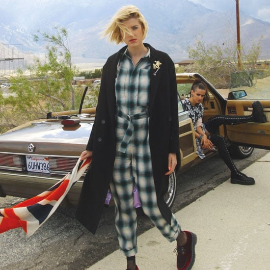 See British Model Agyness Deyn's Collection for Iconic Lace-ups Dr Martens