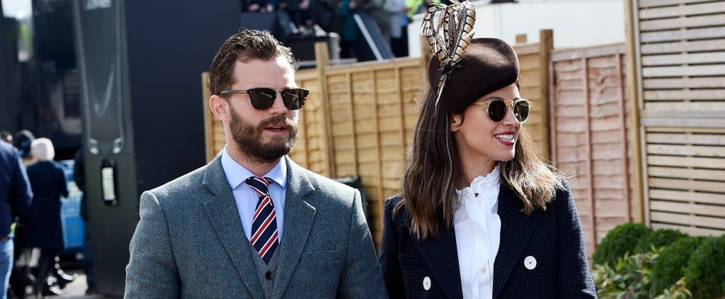 Jamie Dornan and His Wife, Amelia, Are 50 Shades of Stylish During Their Latest UK Outing