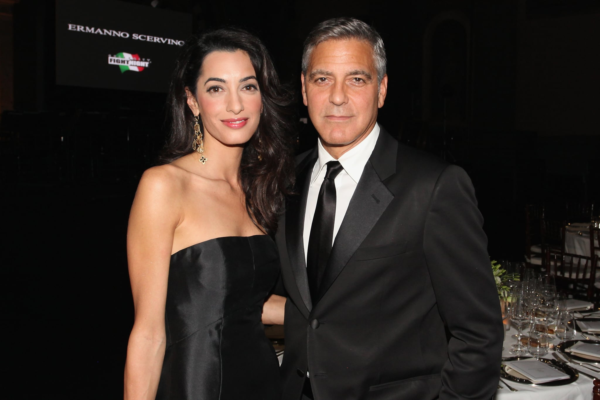 George and Amal Clooney's Travel Plans During Pregnancy 2017