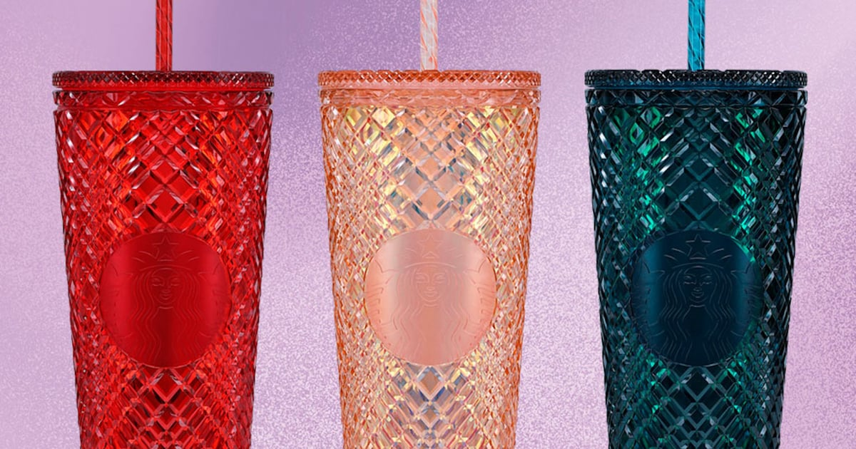 Say Hello to Starbucks's Latest Blinged-Out Merch: Jeweled Cold Cups
