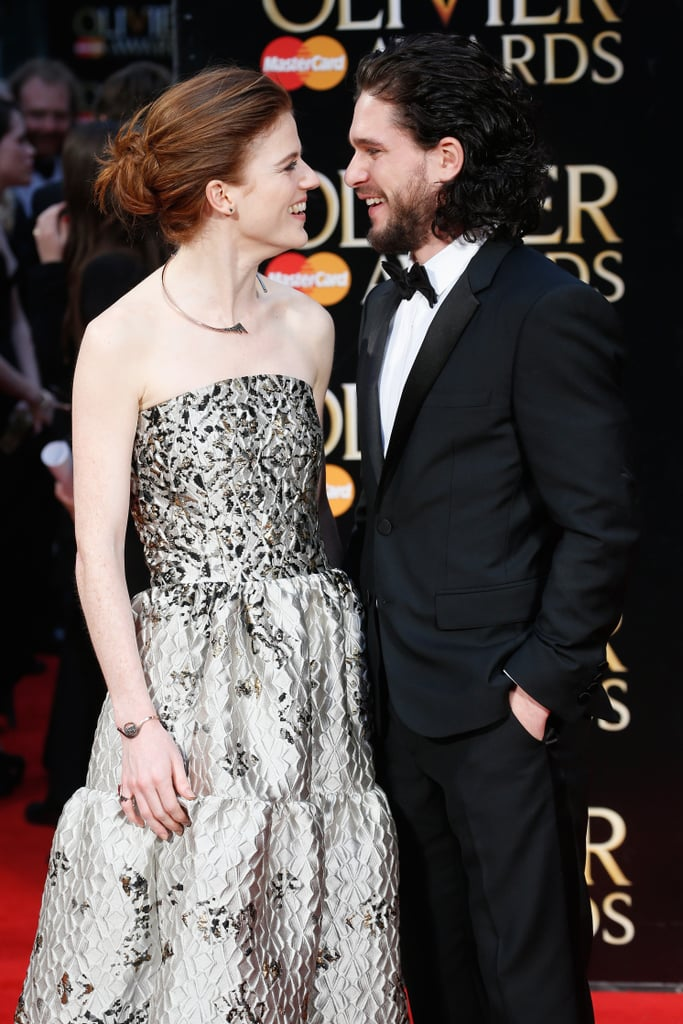 Sparks first flew between Kit Harington and Rose Leslie in 2012 when they co-starred in Game of Thrones. The two dated for a bit, but called it quits a year later. Fortunately, they rekindled their romance in 2016, the same year they made their red carpet debut as a couple, and most recently, news broke that they're engaged. The pair announced the exciting news in an old-fashioned way: by posting it in London's The Times newspaper. In honour of their engagement, take a look at Kit and Rose's sweetest moments together.       Related:                                                                                                           17 Things You May Not Know About Kit Harington