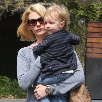 January Jones and Xander Go to Lunch in LA | Pictures