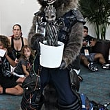 Rocket Raccoon and Baby Groot