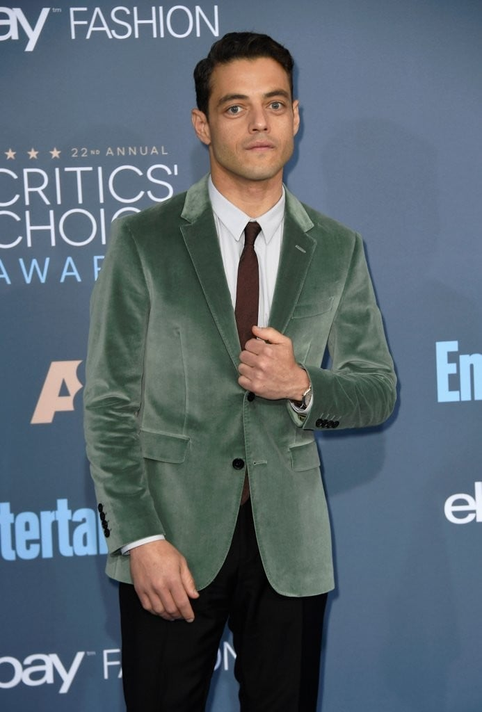 Hot Guys at the 2017 Critics' Choice Awards