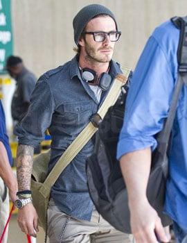 Pictures of David Beckham's Headphones