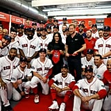 Meghan Markle Meets Red Sox Mookie Betts Pictures June 2019