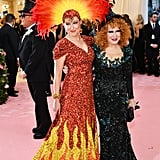 Bette Midler and Sophie Von Haselberg at the 2019 Met Gala
