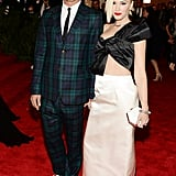 Gwen Stefani and Gavin Rossdale at the Met Gala 2013.
