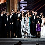Modern Family won the Emmy for outstanding comedy series.