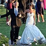 Ian Ziering and Erin Ludwig
